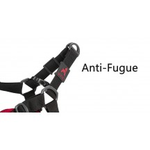 Harnais Sport anti-fugue Rouge