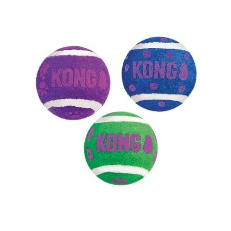 Balles de tennis Kong Active pour chat