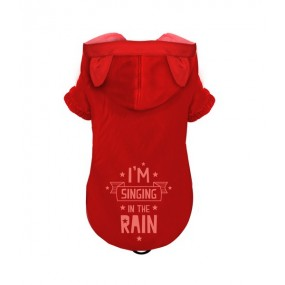 Imperméable Kelly rouge - Noox