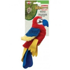 Peluche Perroquet Skinneeez Jumbo pour chat
