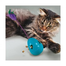 Jouet Infused Tippin Treat pour chat - Kong