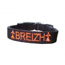 Collier Breizh - Orange fluo