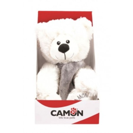 Ours Teddy Bearry Blanc - Camon