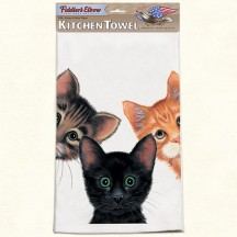 Serviette - Torchon Chat - Fiddler's Elbow