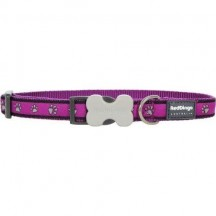 Collier Pattes Violet - Red Dingo