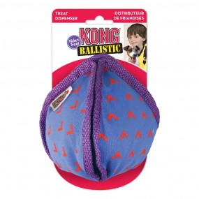 Kong Ballistic Hide'N Treat Violet Medium