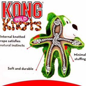KONG Holiday 2019 - Ours WildKnots Vert