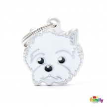 Médaille West Highland White Terrier