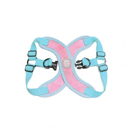 Harnais Perfect Fit X - Rose Pastel - Gooby