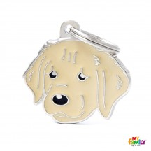 Médaille Golden Retriever