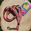 Laisse Palmiers Rose - Beach Dog