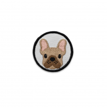 Patch Velcro K9 - Bouledogue Français