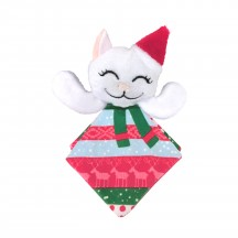 KONG Holiday 2020 Crackles Santa Kitty