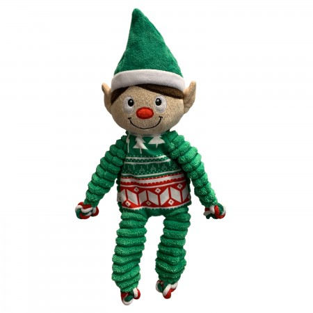 KONG Holiday 2020 Floppy Knots Elf Md