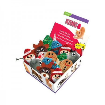 KONG Holiday - Cat Scrattle - Narval
