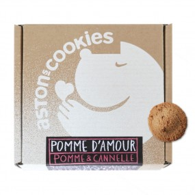 Biscuits Pomme d'Amour - Pomme & Cannelle - Aston's Cookies