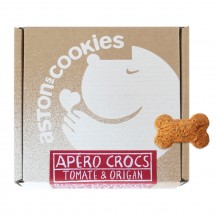 Biscuits Apéro crocs - Tomate & Origan - Aston's Cookies
