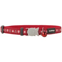 Collier Chat fantaisie Santa Paws - Red Dingo