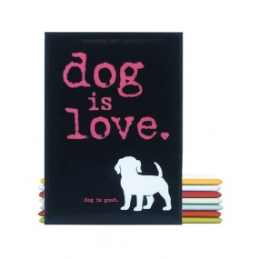 Aimant décoratif Dog is Love - Dog Is Good