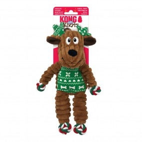 KONG Holiday 2021 Floppy Knots Reindeer