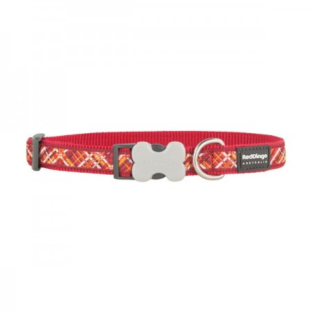 Collier fantaisie Flanno Rouge - Red Dingo