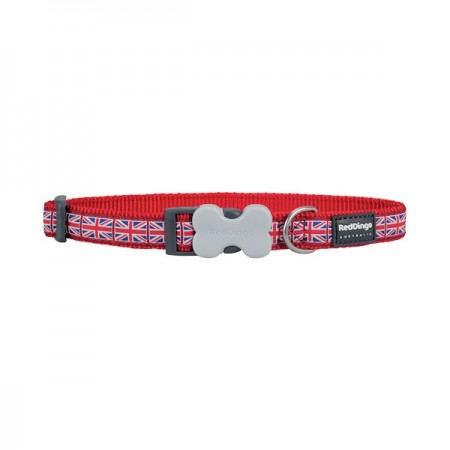 Collier fantaisie Union Jack- Red Dingo