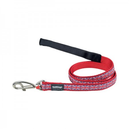 Laisse confort Union Jack - Red Dingo